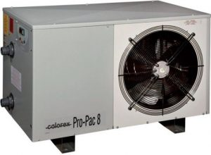 clear water Calorex Pro-Pac Extended Season Heat Pumps