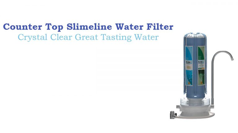 Clear Water Counter Top SlimeLine Purifier