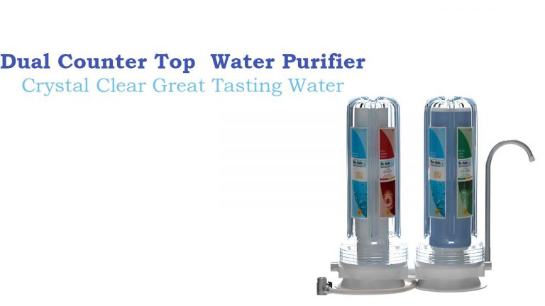 Clear Water Dual Counter Top Water Purifier