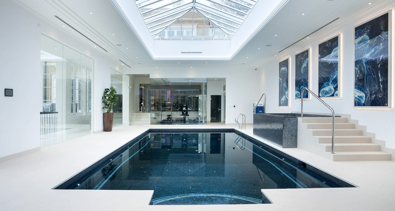 Indoor Swimming Pool Clear Water