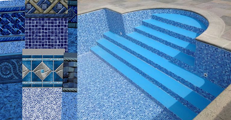 New and Replacement Swimming Pool Vinyl Liners