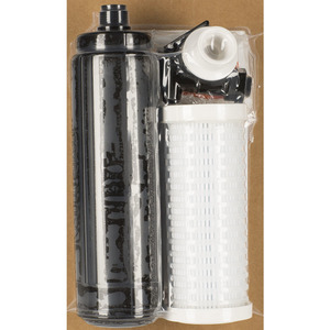 clear water Outback Build-Your-Own 4-Stage (24-48 GPD) Gravity Powered Water Filtration Kit (Buckets Not Included) (OB-DIY25FF)