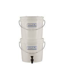 Outback PLUS Mini 4-Stage (6-12 GPD) Gravity Powered Water Filtration System (OB-22NF) clear water