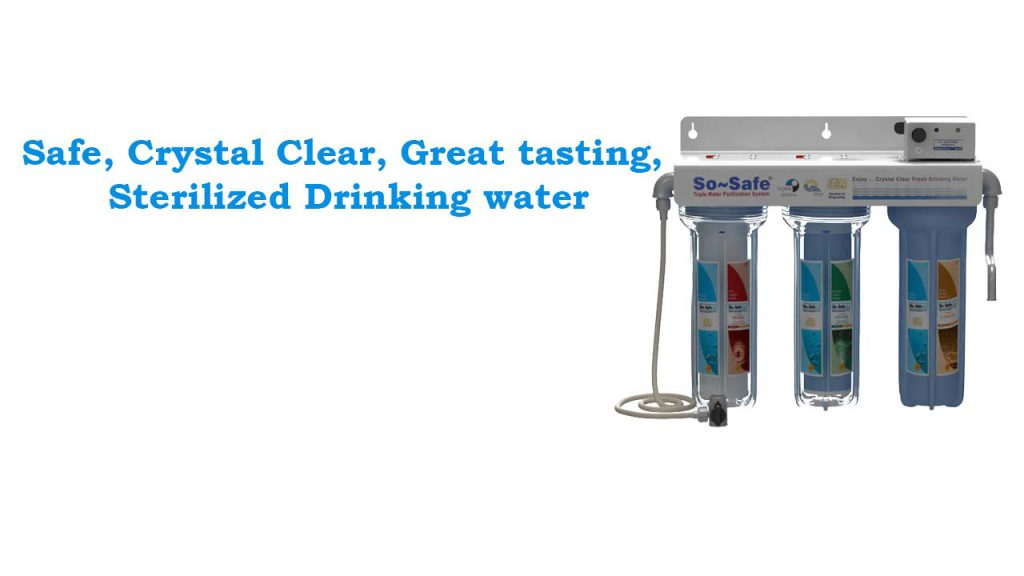 Triple Ultraviolet Water Purification System