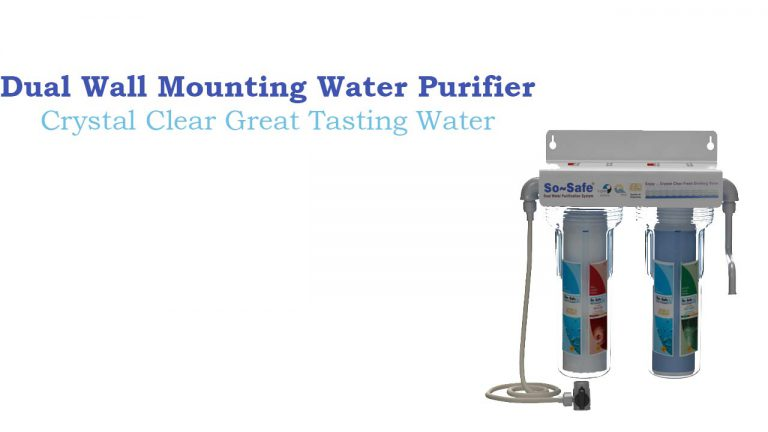 Clear Water Dual Wall Mounting Water Purifier