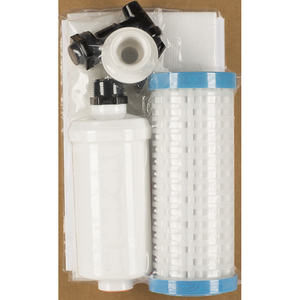 clear water_ Outback Mini Build-Your-Own 4-Stage (24-48 GPD) Gravity Powered Water Filtration Kit (Buckets Not Included) (OB-DIY22FF)