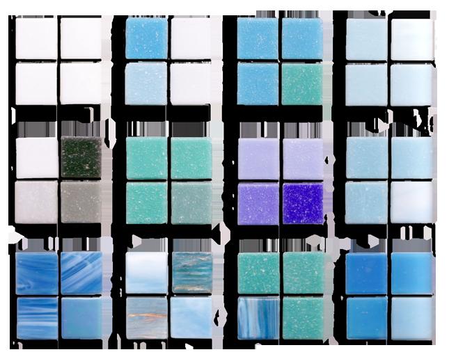 concrete swimming pool tiles