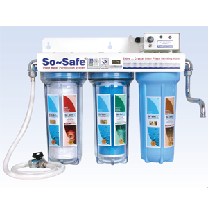 Triple-Ultraviolet-Purifier clear water Envirotech