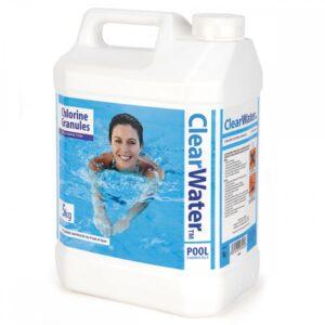 clear water envirotech chlorine granules